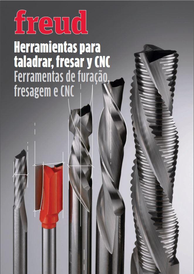 FREUD - Herramientas para taladrar, fresar y CNC